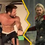 Vidéo de Chris Hemsworth à l'entraînement : fort comme Thor