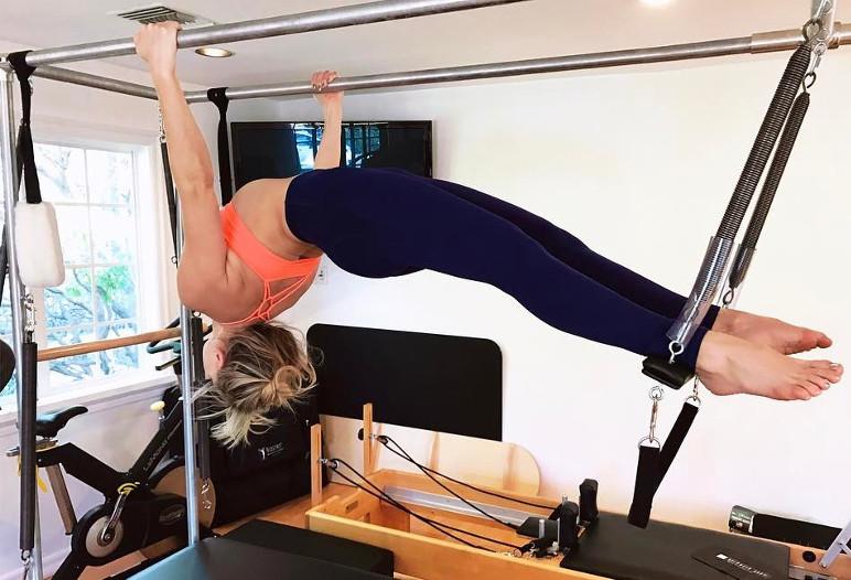 Kate Hudson entraînement - Instagram